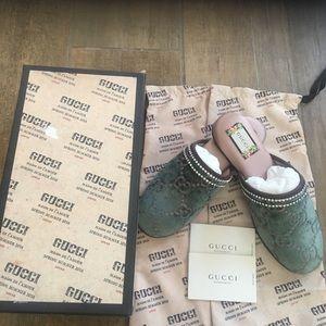 Gucci Flats Mules/Slides